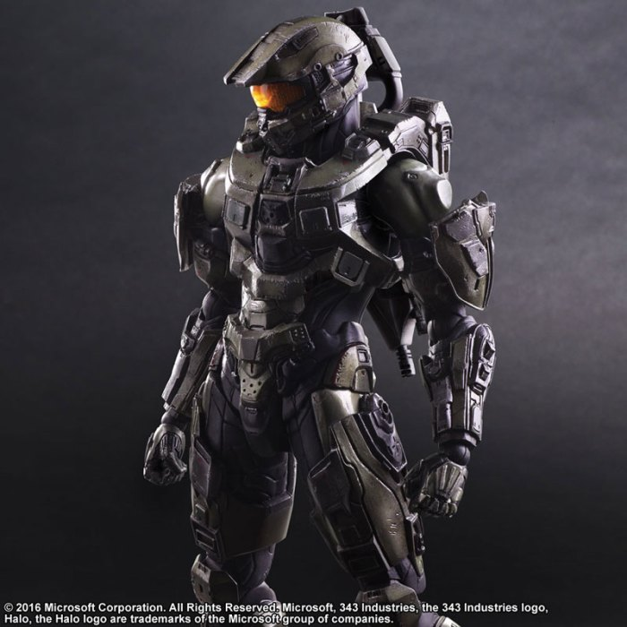 Halo 5 Guardians Master Chief - Play Arts Kai Square Enix pre 04