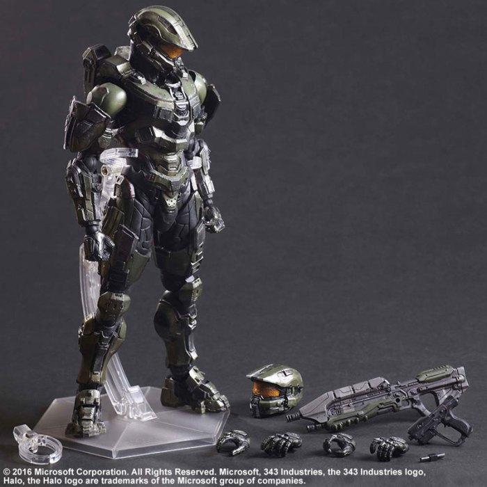 Halo 5 Guardians Master Chief - Play Arts Kai Square Enix pre 09