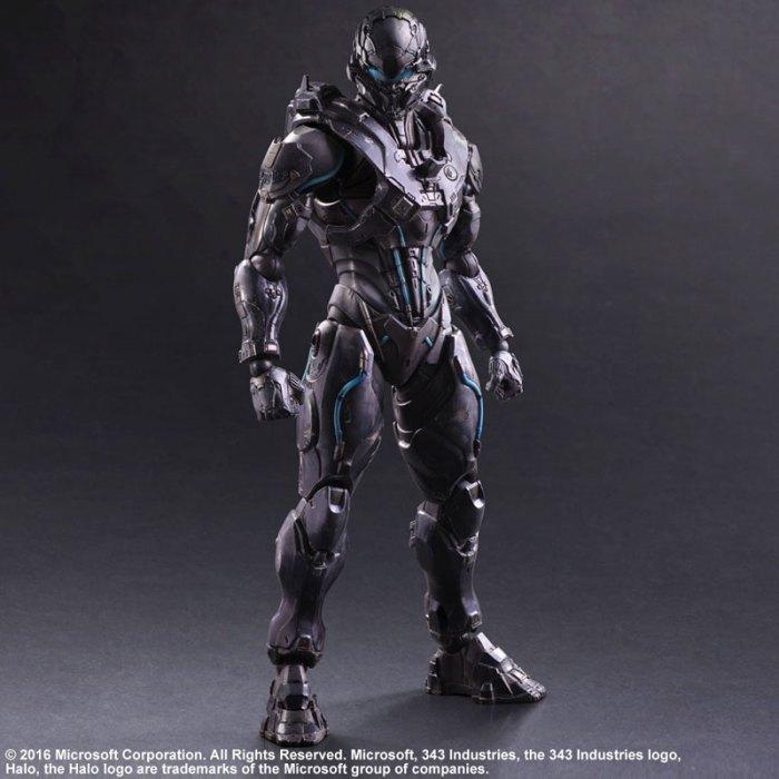Halo 5 Guardians Spartan Locke - Play Arts Kai Square Enix pre 01