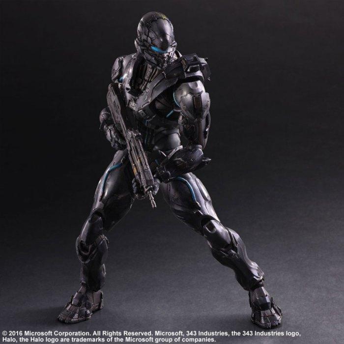 Halo 5 Guardians Spartan Locke - Play Arts Kai Square Enix pre 05