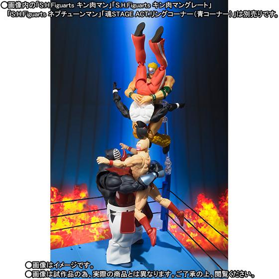 Kinnikuman Big the Budo S.H.Figuarts Bandai Itakon.it -0008