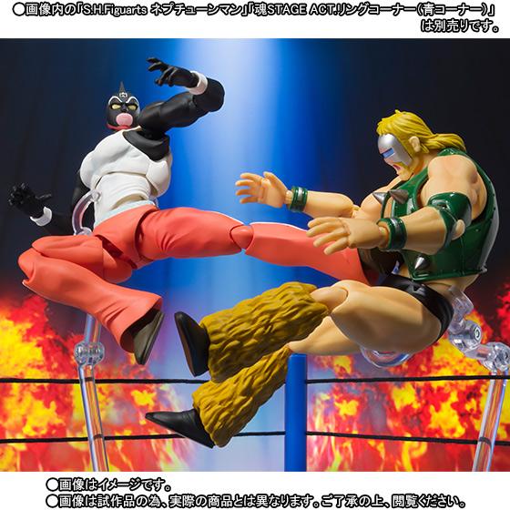 Kinnikuman Great S.H.Figuarts Bandai Itakon.it -0006
