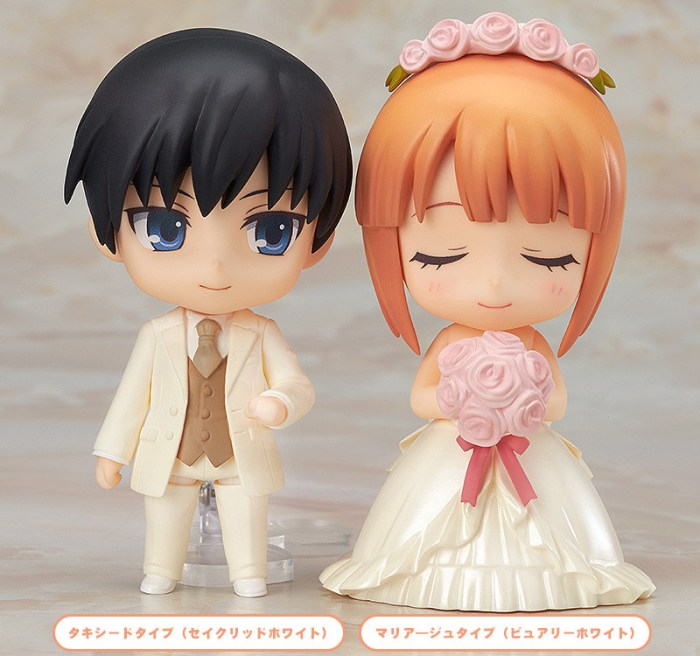 Nendoroid More Dress-Up Wedding GSC Wonder Excl pics 01