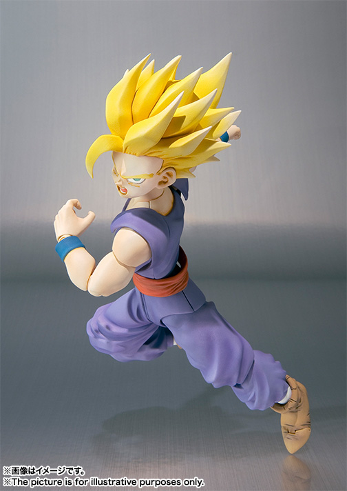 Son Gohan SH Figuarts - Dragon Ball - Bandai rerelease 05