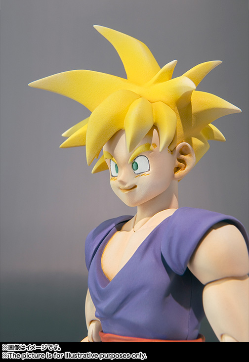 Son Gohan SH Figuarts - Dragon Ball - Bandai rerelease 06