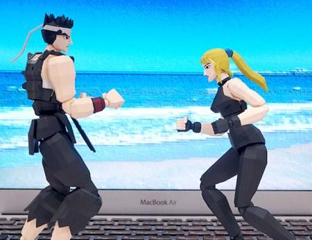 figma Akira Yuki & Sarah Bryant - Virtua Fighter - FREEing gallery 20