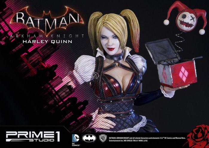 Prime 1 Studio: Harley Quinn da Batman Arkham Knight – Immagini Ufficiali e dettagli