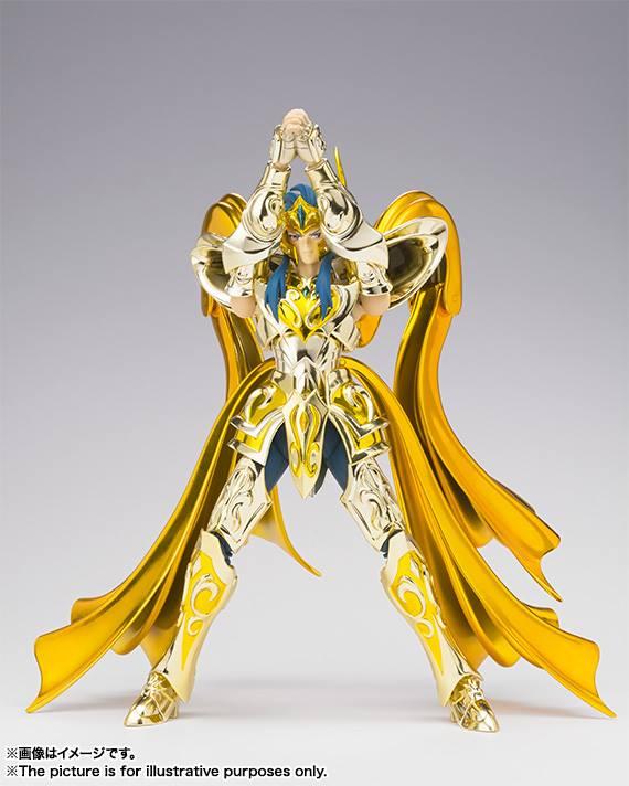 Aquarius Camus Myth Cloth EX di Bandai Immagini ufficiali Itakon.it -0004a