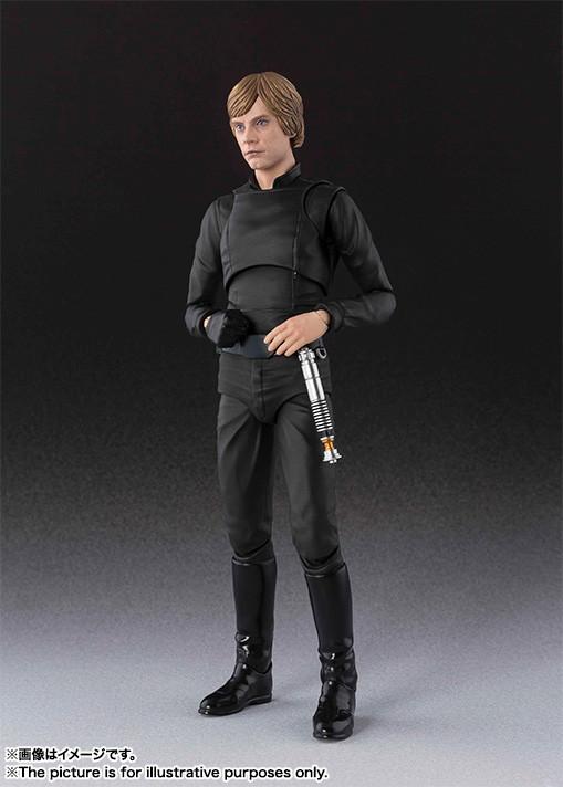Luke Skywalker SH Figuarts da ''Star Wars'' (ristampa)