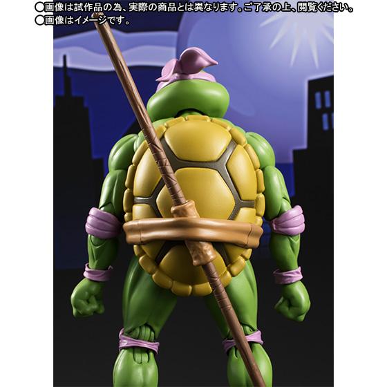 Donatello SH Figuarts - TMNT - Bandai pre 06