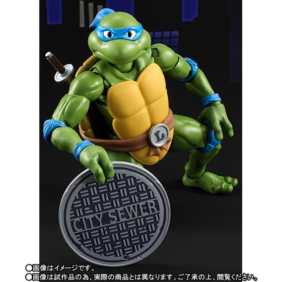 Leonardo SH Figuarts - TMNT - Bandai pre 03
