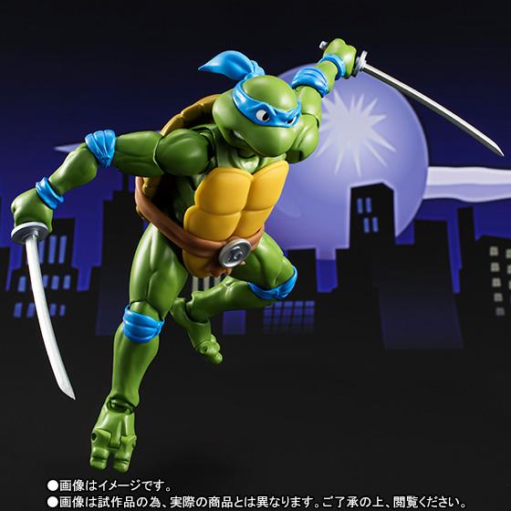 Leonardo SH Figuarts - TMNT - Bandai pre 04
