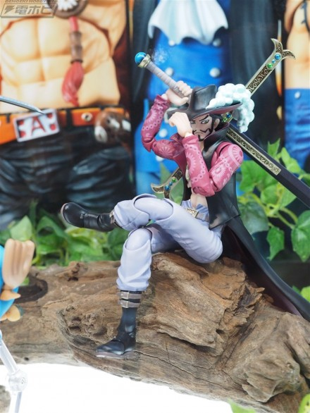 "Juracule Mihawk linea Variable Action Heroes da ""One Piece"""