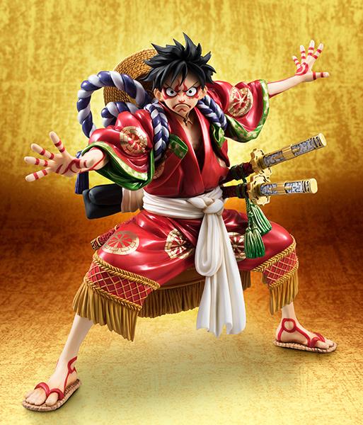 Monkey D Luffy Kabuki POP - One Piece MegaHouse pre 01