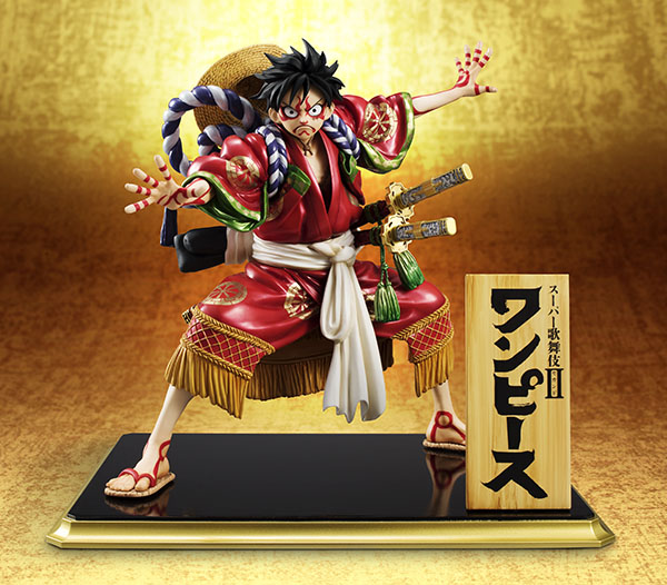 Monkey D Luffy Kabuki POP - One Piece MegaHouse pre 13