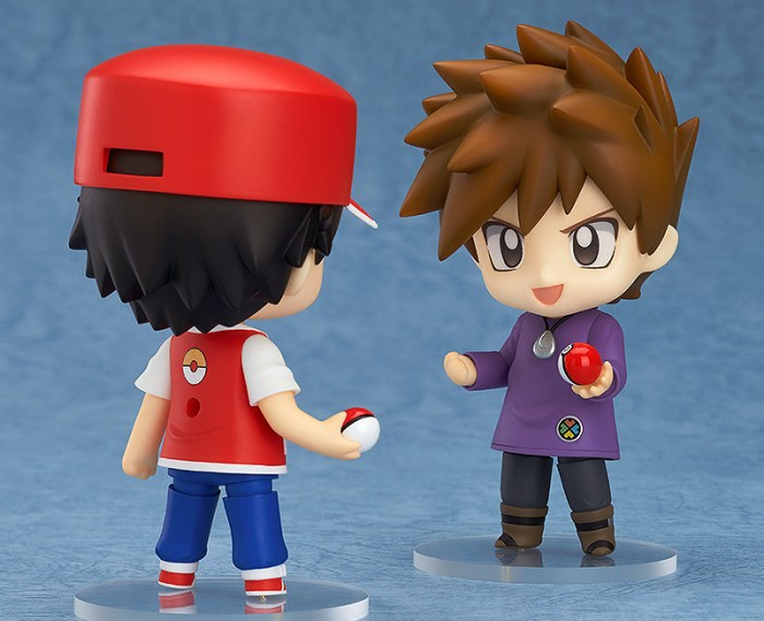 Nendoroid Pokémon Trainer Red & Green GSC pre 05