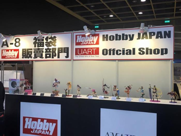 Lo stand Hobby Japan