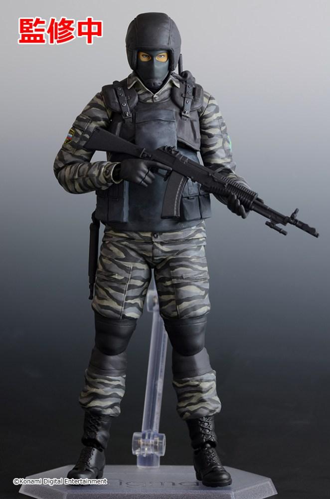 figma Gurlukovich Army Soldiers MGS2