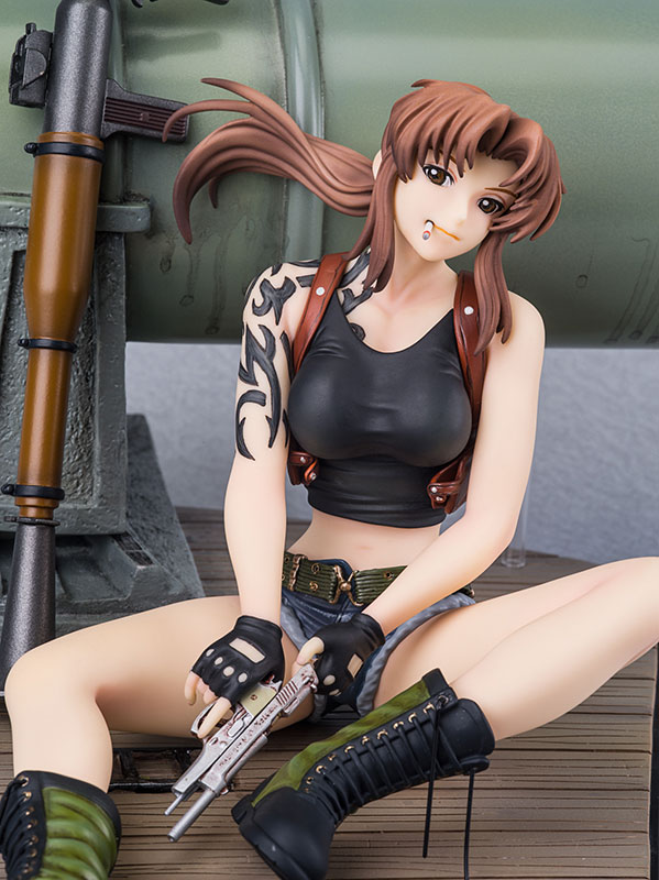 Revy DX Edition - Black Lagoon - New Line preorder 04