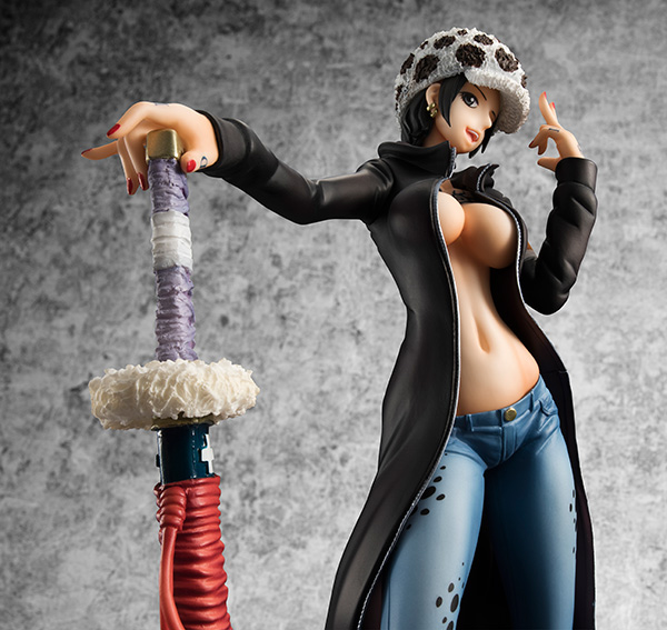 Trafalgar Law POP - One Piece - MegaHouse info pre 10