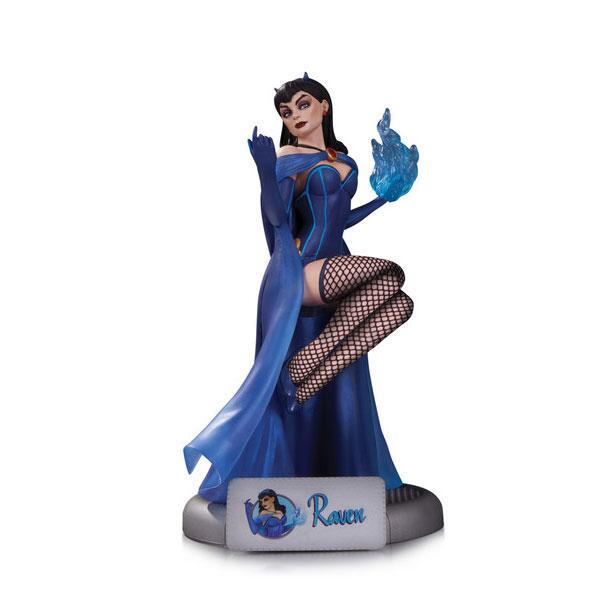 DC-Comics-Bombshells-Raven-Statue