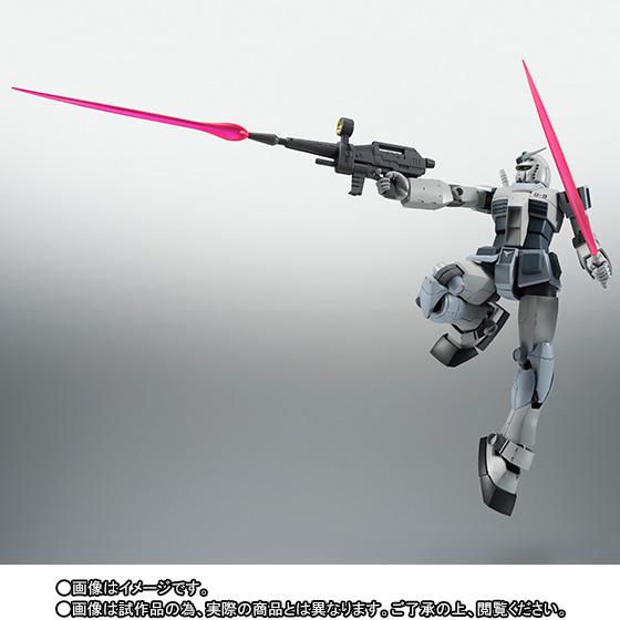 Gundam RX-78-3 G-3 ver. A.N.I.M.E. ROBOT SPIRITS SIDE MS Bandai Itakon.it -0006