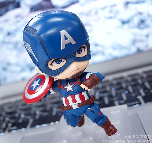 Nendoroid Captain America - Avengers - Good Smile Company gallery 04