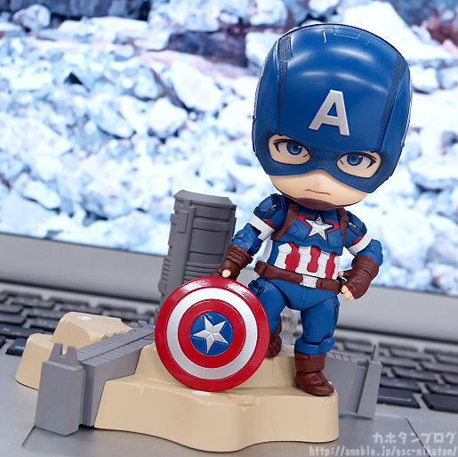 Nendoroid Captain America - Avengers - Good Smile Company gallery 07