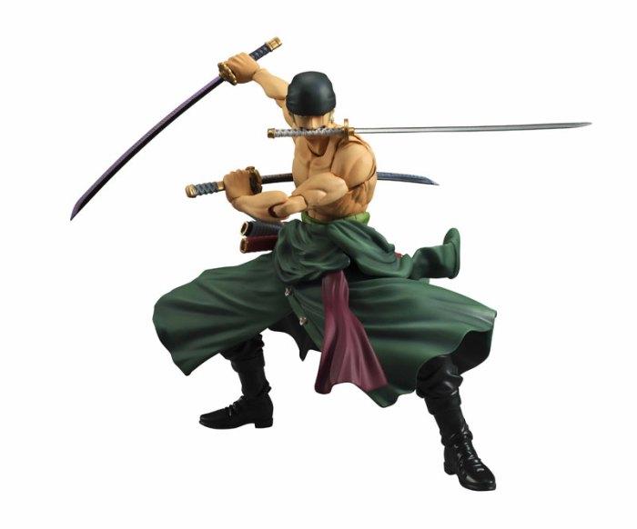 Roronoa Zoro Variable Action Heroes di MegaHouse ristampa Itakon.it -0007