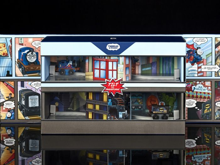 SDCC16-Mattel-Thomas-and-Friends-DC-Comics