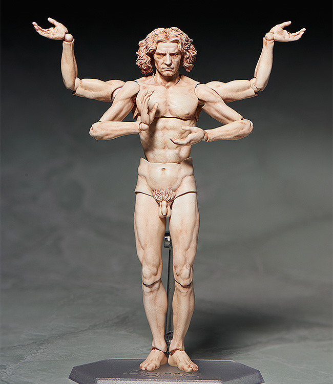 figma VItruvian Man The Table Museum FREEing pre 04