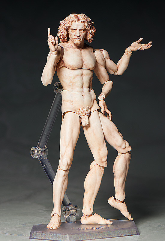 figma VItruvian Man The Table Museum FREEing pre 06