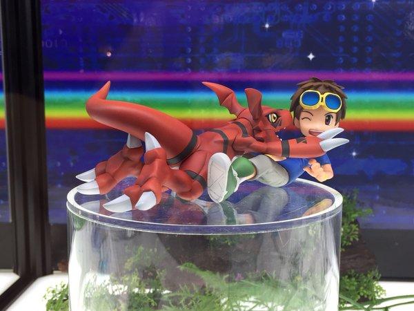 Matsuda e Guilmon da Digimon Tamers