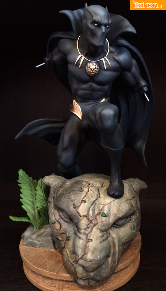 Marvel Comics Black Panther Fine Art Statue - Kotobukiya - Recensione Bossborot - Foto 17