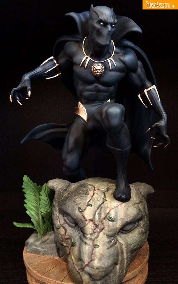 Marvel Comics Black Panther Fine Art Statue - Kotobukiya - Recensione Bossborot - Foto 21