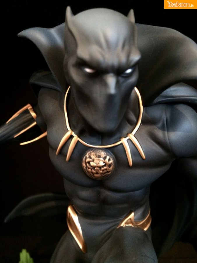 Marvel Comics Black Panther Fine Art Statue - Kotobukiya - Recensione Bossborot - Foto 26
