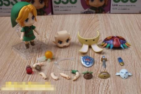 Rubrica AntiBootleg - Link Mayora Mask Ver - Nendoroid - Good Smile Company - Foto 05