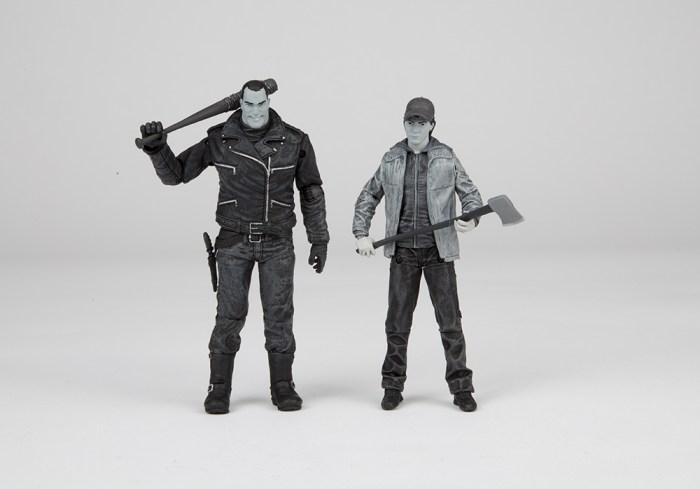 SDCC16-Walking-Dead-Skybound-Negan-and-Glenn-BW-002