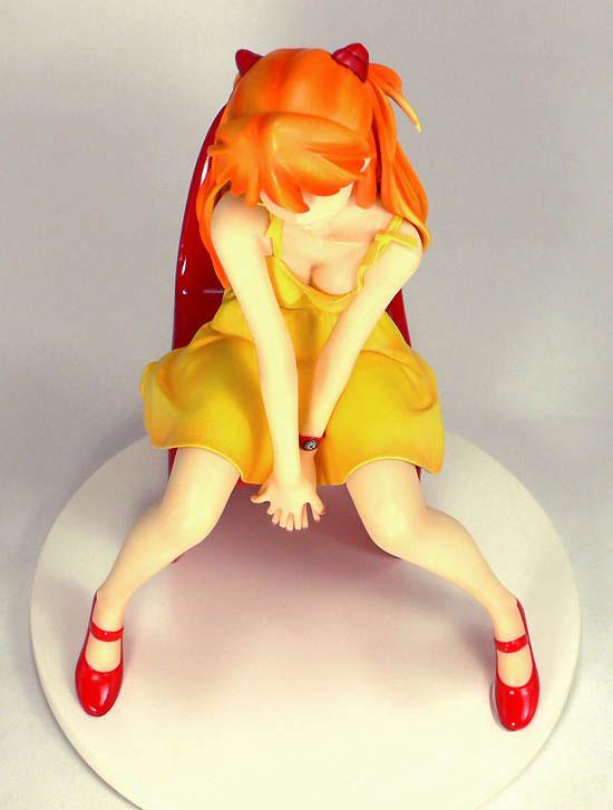 Asuka Yellow Dress Amie Grand rerelease 06