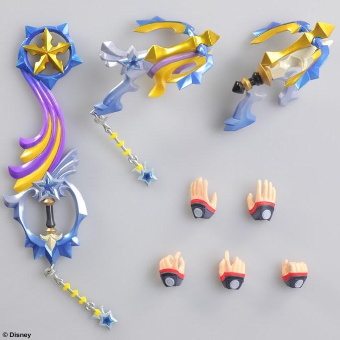 Kingdom Hearts III - Sora - Play Arts Kai - Square Enix - Foto 03