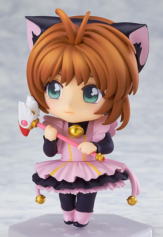 Nendoroid Co-de Sakura Kinomoto Black Cat Maid GSC pre 02