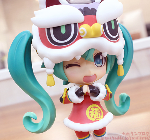 Nendoroid Miku Hatsune Lion Dance GSC preview 13