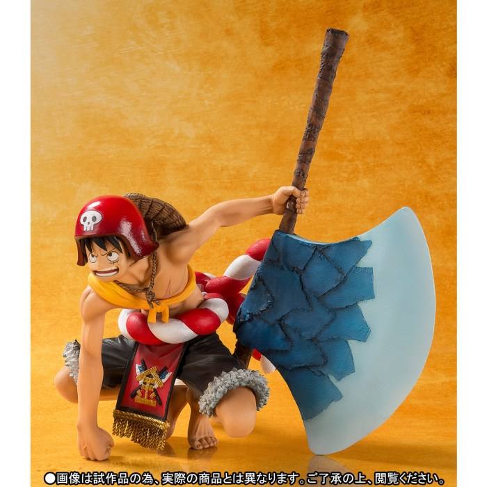 One Piece Gold Monkey D Luffy Figuarts ZERO bandai pics 03