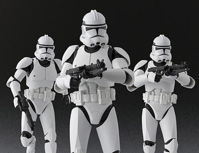 Star Wars Clone Trooper SH Figuarts Bandai pics 20