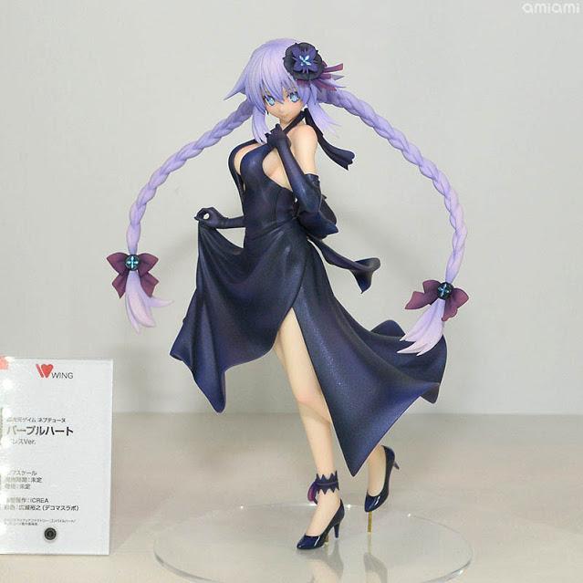 Purple Heart 1/7 Dress ver. da Neptunia