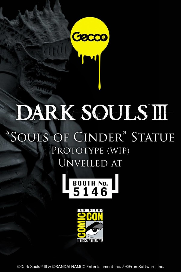 san diego comic con - DS III - Souls of Cinder - 1