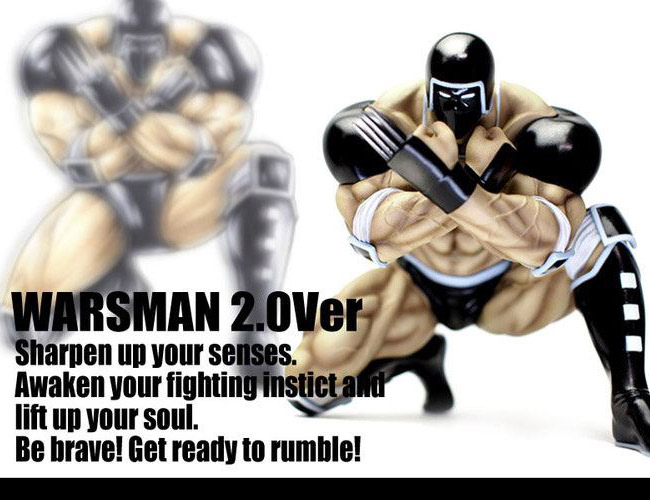 CCP Muscular Collection vol.EX Warsman 2.0 Advent Ver 20