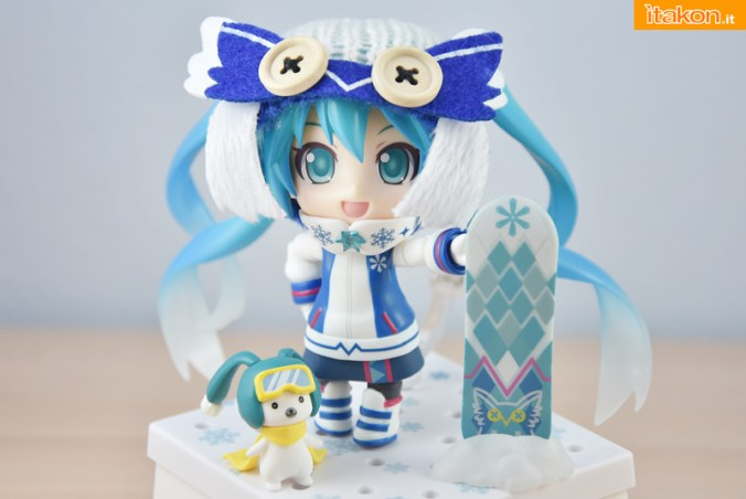 Snow Miku Owl Ver - Nendoroid 570 - Good Smile Company - Recensione - Foto 44