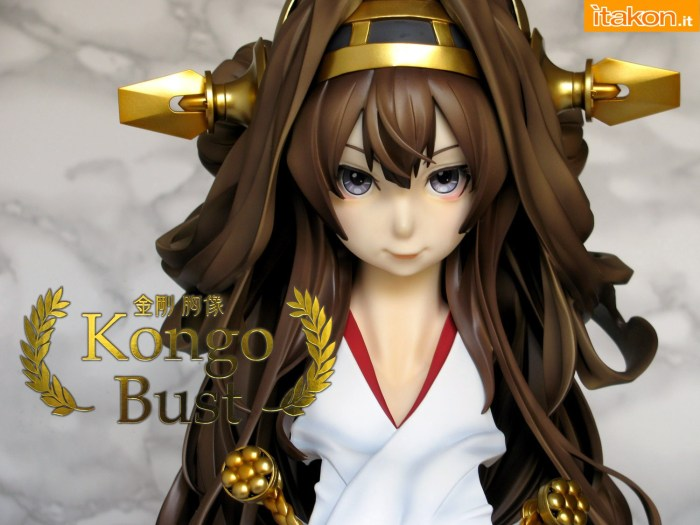 000 Kongo Bust Kantai Collection KanColle GSC WHS recensione