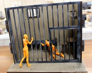 1/10 Jail Cell M Size: 11880 Yen